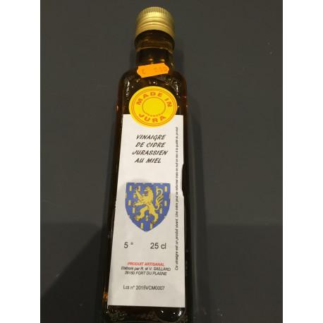 vinaigre de cidre jurassien au miel