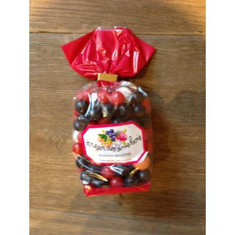 bonbon myrtilles framboises