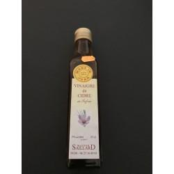 Vinaigre de cidre au Safran ( Made in JURA)